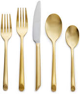 Hotel Collection Gold Flatware 20 Piece Set, Service for 4
