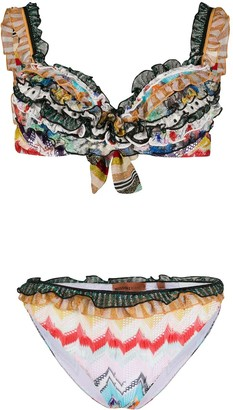 Missoni Mare Ruffled Bikini Set
