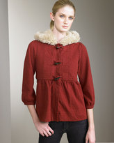 Marc by Marc Jacobs Hooded Coat