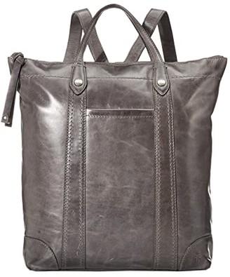 Frye Melissa Zip Backpack (Beige) Backpack Bags