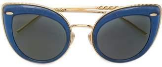 Boucheron Eyewear cat-eye shaped sunglasses