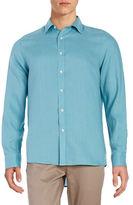 Michael Kors Long Sleeved Linen Sportshirt