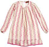 Missoni Vertical Zigzag Wool Blend Dress