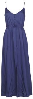 Betty London MELLE women's Long Dress in Blue