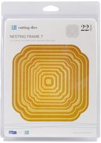 "We R Memory Keepers Lifestyle Nesting Dies 22/Pkg-Frame 7, .40"" To 5.5"""