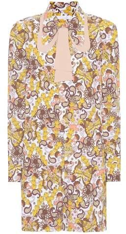 Chloé Printed playsuit