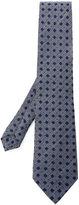Etro geometric pattern tie - men - Silk/Wool - One Size