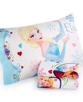 Disney Frozen Springtime Floral Full Sheet Set