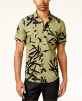 INC International Concepts Men's Geometric Print Shirt, Created for Macy's