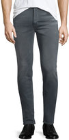 Hudson Sartor Powerlines Skinny-Leg Denim Jeans, Dark Gray