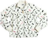 Moschino Shoes Printed Milano Jersey Sweatshirt