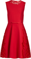 Giambattista Valli Lace-insert sleeveless mini dress