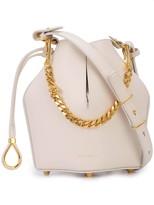 Alexander McQueen bucket chain shoulder bag
