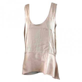 By Malene Birger Pink Silk Top for Women