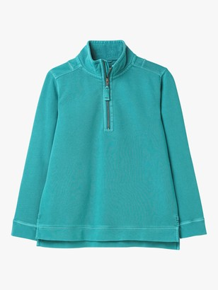 White Stuff Pacific Half Zip Sweatshirt