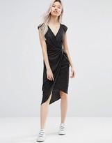 Wal G Dress With Asymmetric Hem