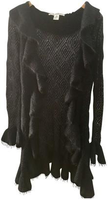 Diane von Furstenberg Black Wool Knitwear for Women Vintage