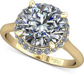 Macy's Diamond Halo Mount Setting (1/8 ct. t.w.) in 14k Gold