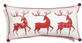 Levtex Three Reindeer Accent Pillow