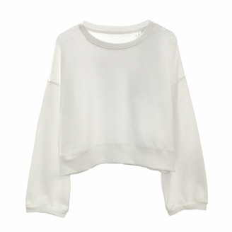 Hosd Autumn round neck sweater was thin solid color hedging