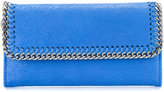 Stella McCartney 'Falabella flap' wallet - women - Artificial Leather/Metal (Other) - One Size