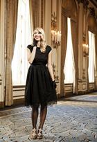 Shabby Apple Alice Dress Black PP