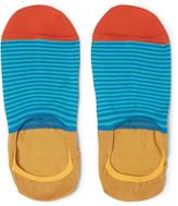 Paul Smith - Mercerised Stretch Cotton-blend No-show Socks