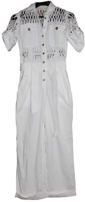 Catherine Malandrino White Cotton Jumpsuit for Women