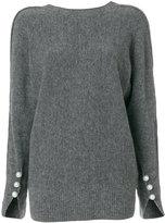 3.1 Phillip Lim V-back sweater - women - Polyamide/Spandex/Elastane/Wool/Yak - XS
