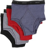 Jockey Cotton Full-Rise Brief 4-Pack Men's Underwear