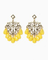 Charming charlie Regally Ornate Dangle Earrings
