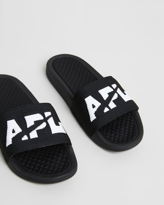 APL Athletic Propulsion Labs Big Logo TechLoom Slides - Women's