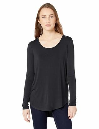 Daily Ritual Amazon Brand Women's Jersey Long-Sleeve Scoop Neck Shirt