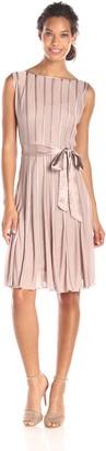 SL Fashions Women's Long Satin Dress