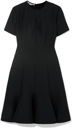 Stella McCartney Pleated Wool-blend Mini Dress