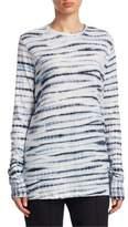 Proenza Schouler Tie-Dye Cotton Jersey Top