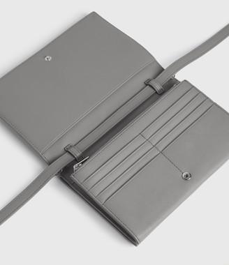 AllSaints Roman Chain Leather Wallet Crossbody Bag