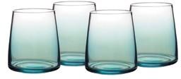 Portmeirion Atrium Stemless Wine Glass, Set of 4