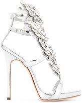 Giuseppe Zanotti Design Cruel sandals - women - Leather/Crystal - 36