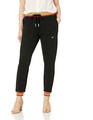 True Religion Women's Quilted Jogger Pant
