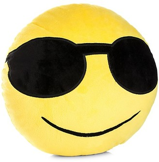 My Emoji Sunglasses Smiling Emoji Accent Cushion