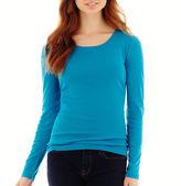 JCPenney STYLUS Stylus Long-Sleeve Crewneck T-Shirt