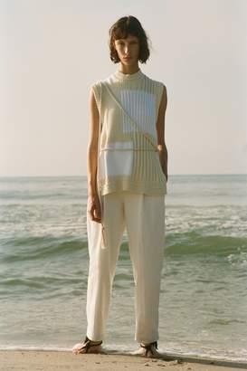Yigal Azrouel Patchwork Knit Vest