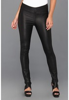 Catherine Malandrino Karen Leather Pant (Noir) - Apparel