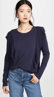 Goldie Ruffle Front Sweatshirt