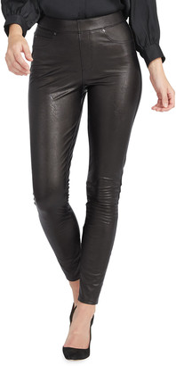 Spanx Leather-Like Ankle Skinny Pants