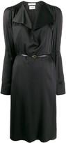 Bottega Veneta belted midi dress