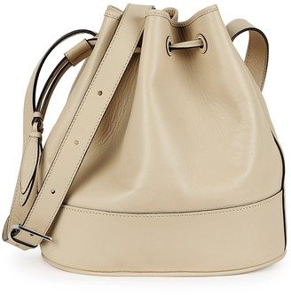 Hunting Season The Drawstring large leather bucket bag