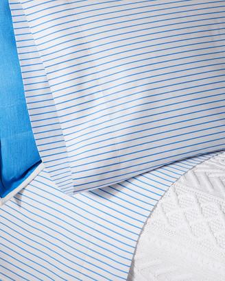 Ralph Lauren Home Prescot Stripe Queen Fitted Sheet
