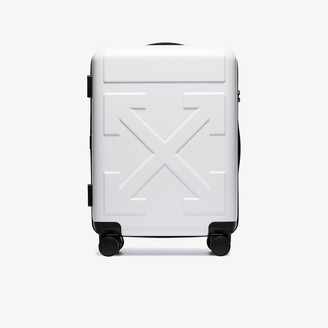 """Off-White White """"For Travel"""" Arrow trolley"""